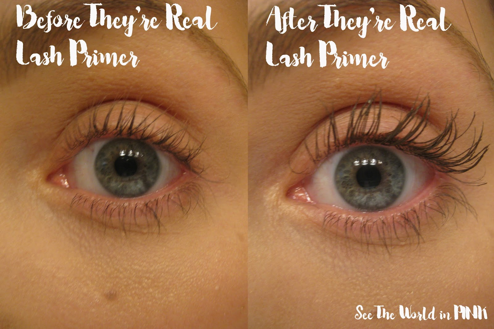 19132beb645 Makeup Product Review - NEW Benefit Cosmetics They're Real! Tinted Lash  Primer