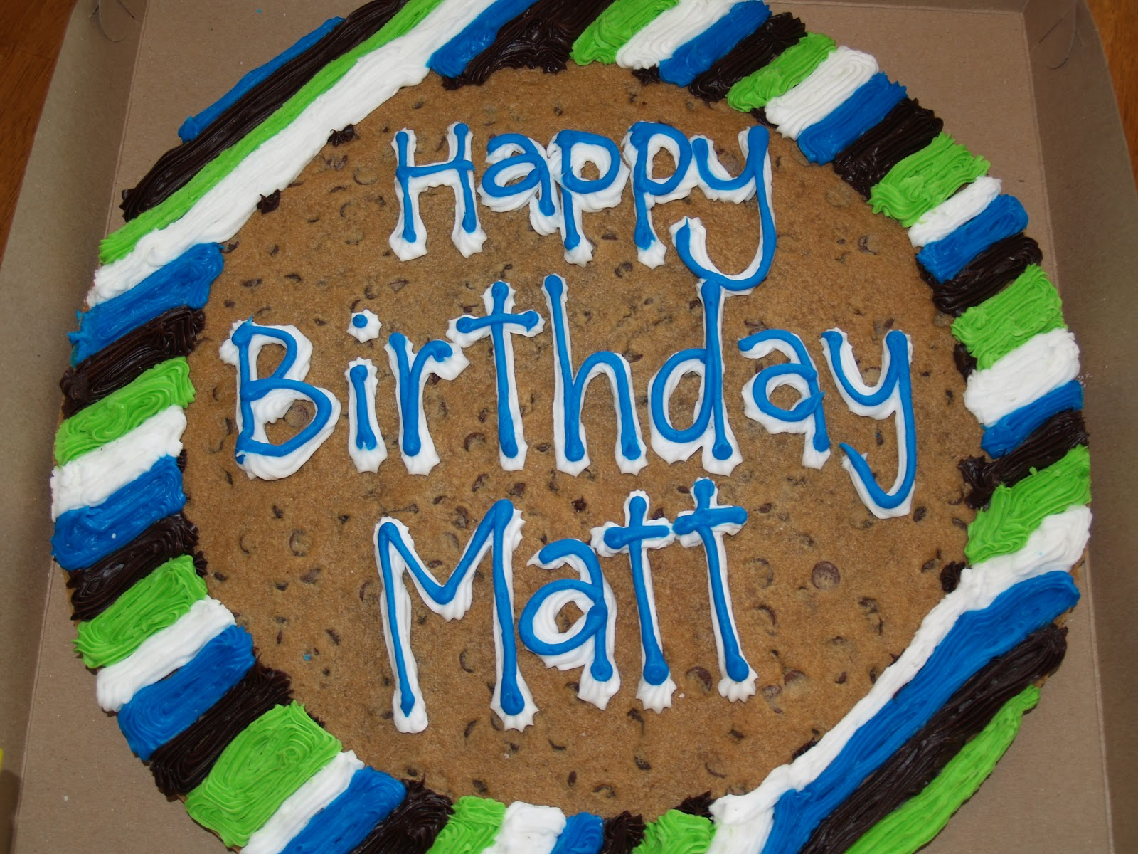 The Calvert Family: Happy 35th Birthday Matt