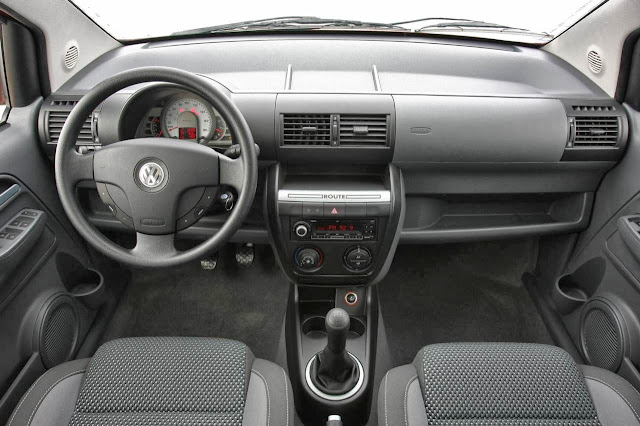 VW Fox Route - interior