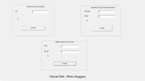 Membuat Program Mencari Luas Bangun Datar Dengan Visual Basic 6.0