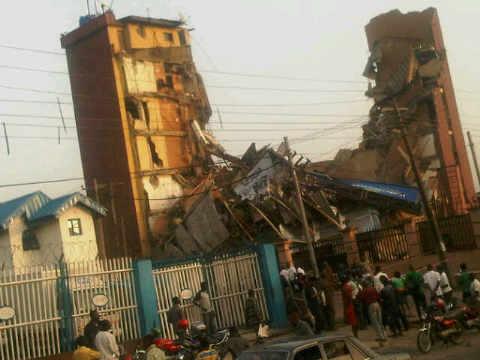 Collapsed Building ,Lagos,Nigeria