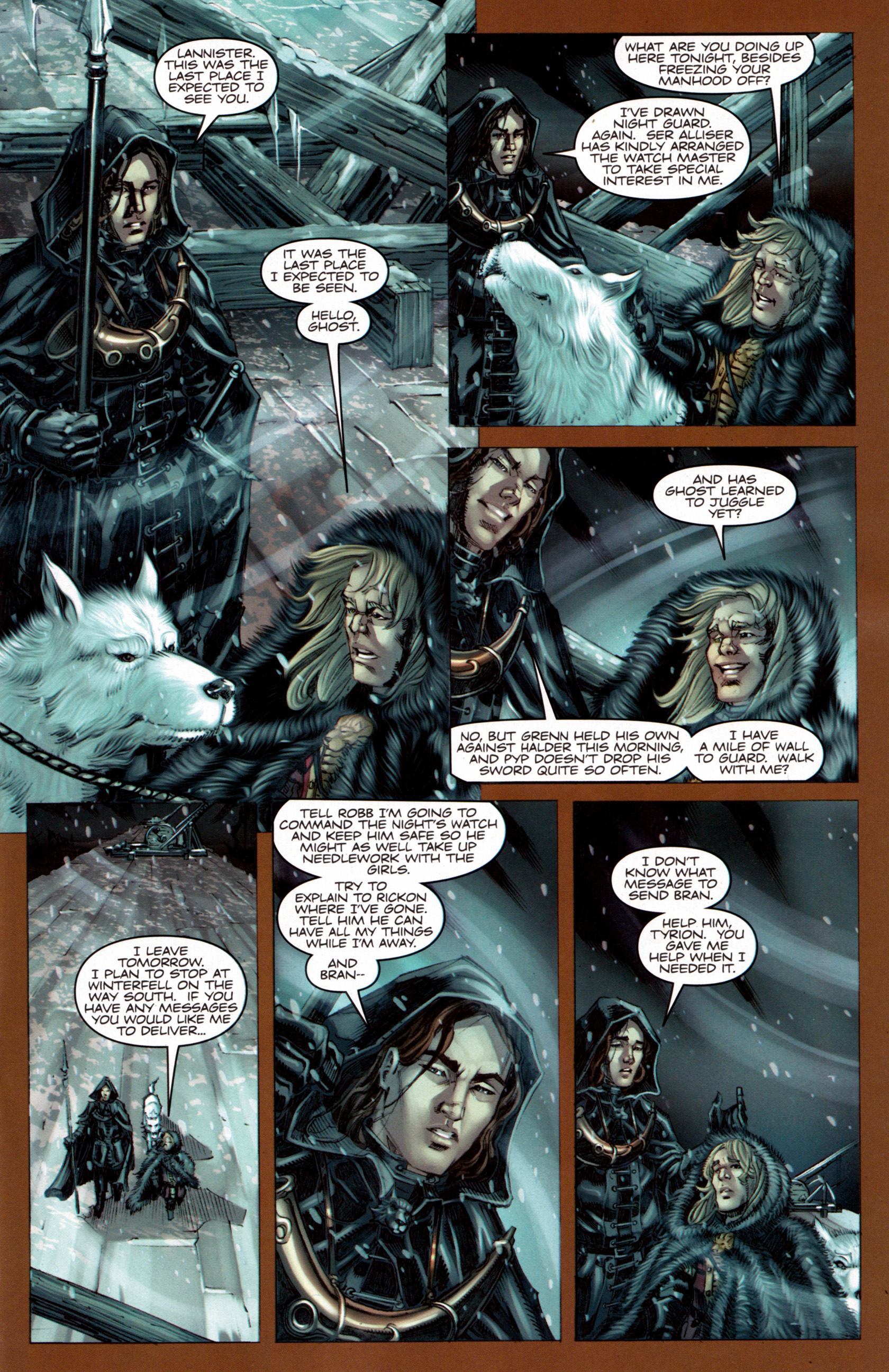 Read online A Game Of Thrones comic -  Issue #7 - 10