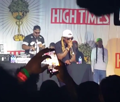 f926a3cf1dea Lil Wayne storms off stage mid-performance at cannabis concert because fans  were too mellow