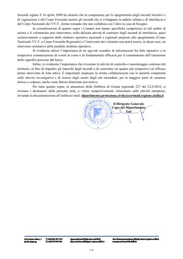 Il blog dei lavoratori forestali e degli addetti allo for Pti regione sicilia