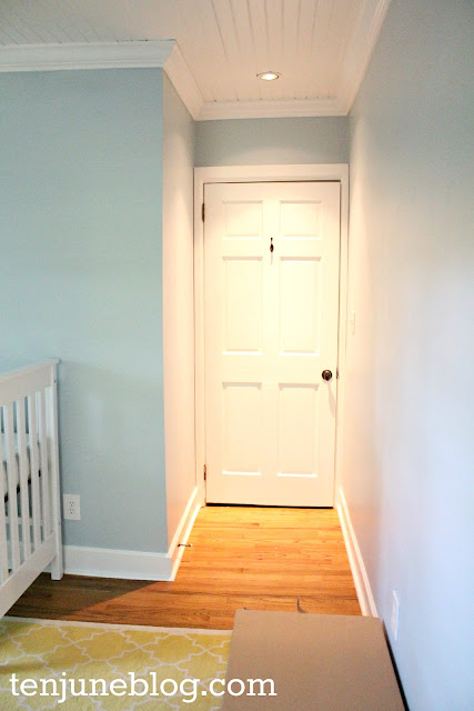 Ten June Nursery Update A Freshly Painted Baby Boy S