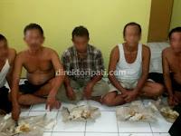 Polisi Tangkap 5 Copet di Inbox Karnaval SCTV Pati
