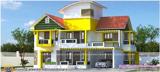 C-curve roof mix contemporary house + interiors