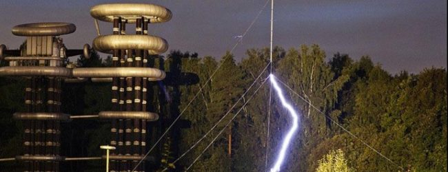 Tesla's legendary wireless electricity tower built and tested in Russia