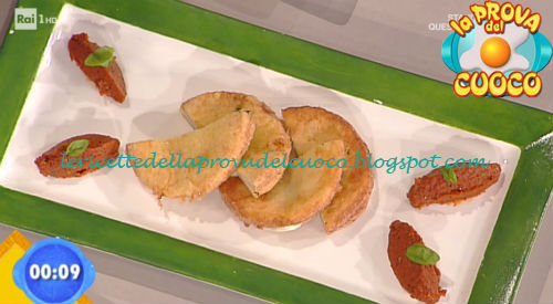 Provola in carrozza su salsa di pomodori secchi ricetta Rossi da Prova del Cuoco