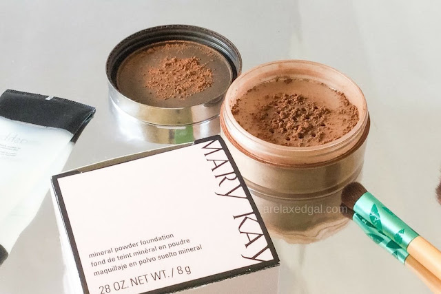 Mary Kay Mineral Powder Foundation review | arelaxedgal.com