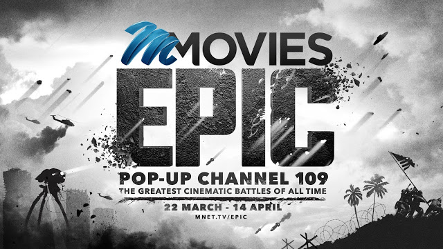 Swords Are Drawn And Bullets Fly On The M-Net Movies Epic Battle Pop-Up Channel
