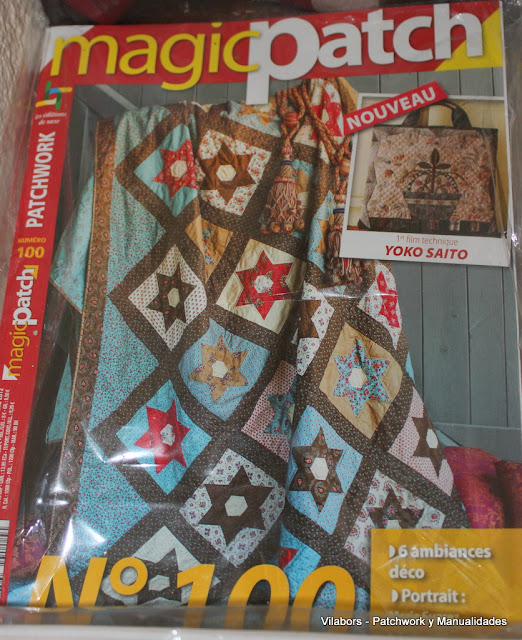 Libros de Patchwork y Quilt (Magic Patch  número 100)- Vilabors