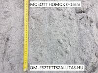 MOSOTT HOMOK, VAKOLÓ HOMOK, 0-1 HOMOK