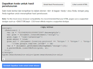 Membuat Custom Search Engine Di Blog