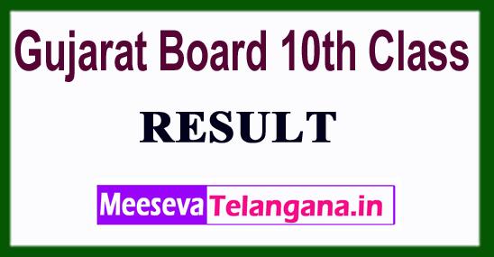 Gujarat Board 10th Class Result 2019