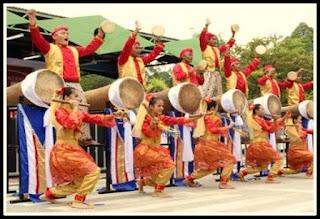 Rampak Bedug Kesenian Tradisional Dari Banten
