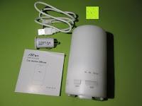 Erfahrungsbericht: Aiho 50ml USB Auto Aroma Diffuser Mini AD-P3 Aromatherapie Ätherische Öl Ultraschall Luftbefeuchter Humidifier