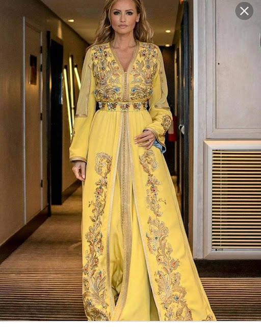 Caftan Marocain 2018 Mode Printemps