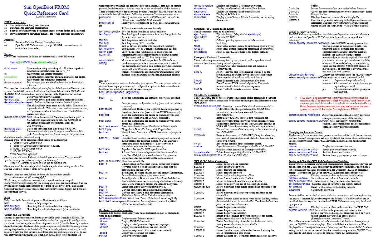 Sun Solaris aka {'Oracle Solaris'} Support Tips: February 2011