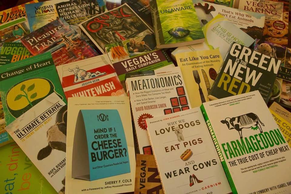 Princeton Vegan Book Club Books