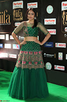Nandita Swetha in a tight Green Choli Ghagra at IIFA Utsavam Awards March 2017 ~ 078.JPG