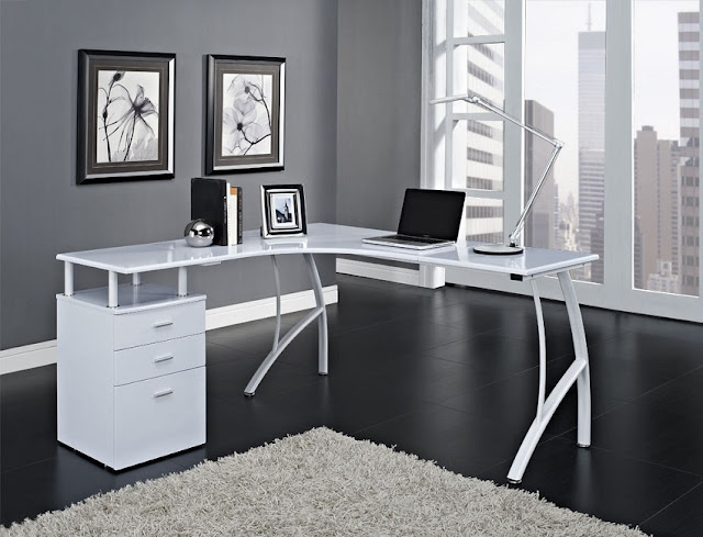 best buy modern white home office furniture Knoxville TN for sale