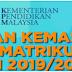 Permohonan Kemasukan Program Matrikulasi KPM Sesi 2019/2020