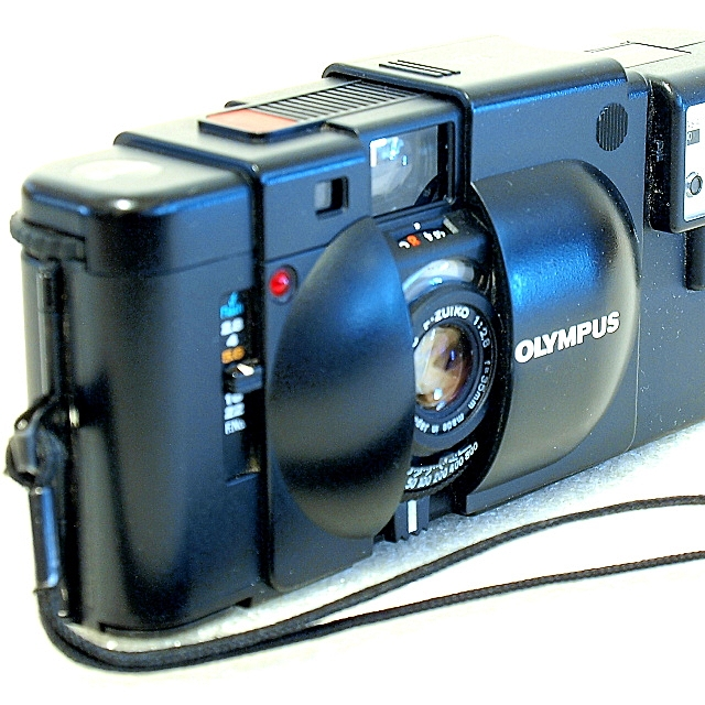 Olympus XA 35mm Rangefinder Camera
