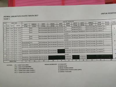 Jadwal PLPG 2017 serta materi KPPG