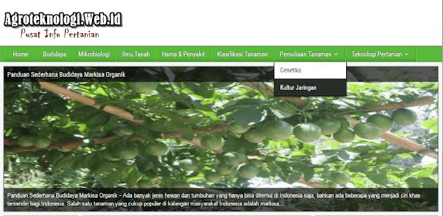 Agroteknologi.web.id Sumber Informasi Pertanian Indonesia.