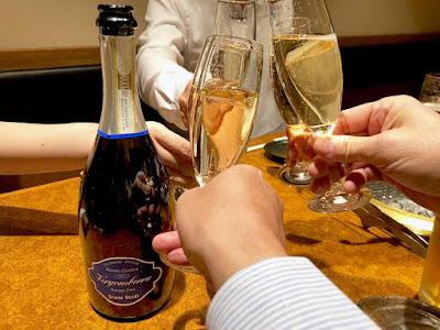 美味しいイタリアスパークリングワインVergomberra Dosage Zeroで乾杯