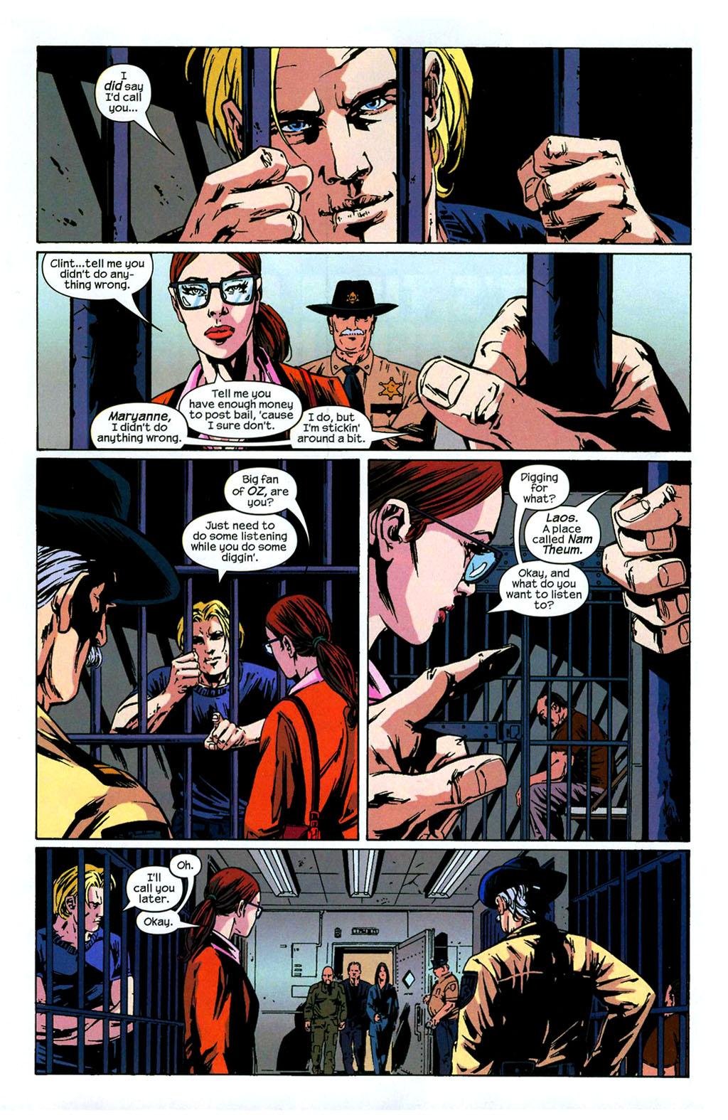 Hawkeye (2003) Issue #4 #4 - English 12