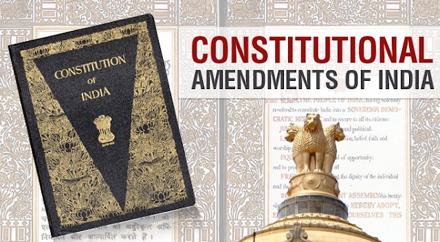 Constitutional Amendments Acts India Shorts Notes PDF Free Download