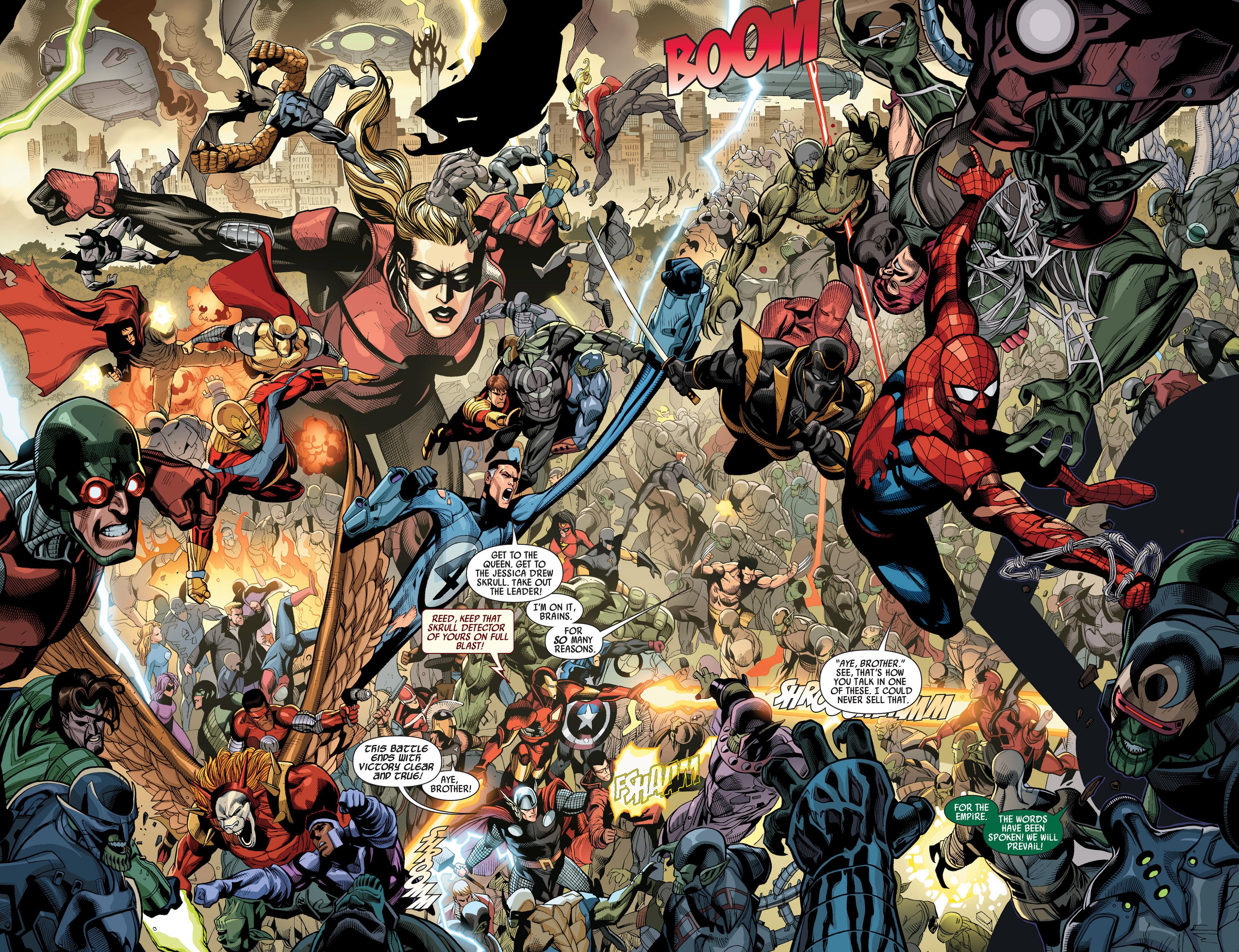 Read online Secret Invasion comic -  Issue #7 - 3