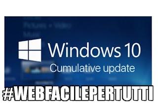 Windows 10 | Disponibile l'aggiornamento cumulativo di dicembre 2017