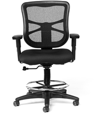 Milan Drafting Chair by Ergo Contract Furniture at OfficeAnything.com