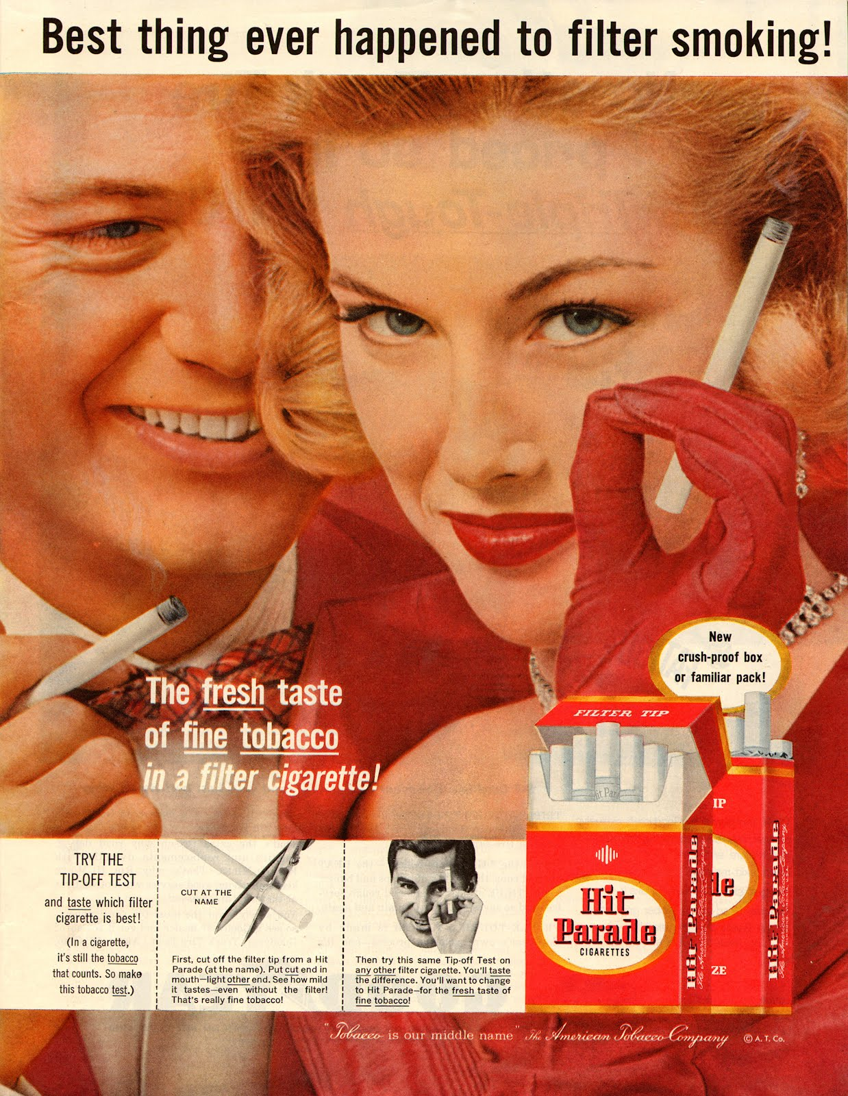 Cigarette Ads in 1950's ~ vintage everyday