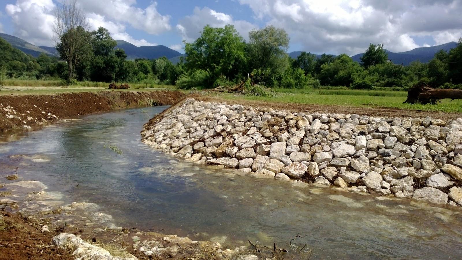 Partiti i lavori di sistemazione del fiume Amaseno in località Ponte Rotto