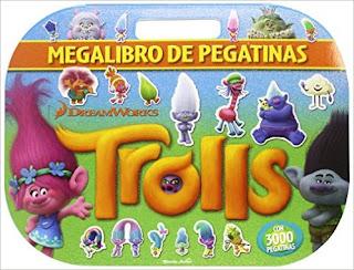 Trolls. Megalibro De Pegatinas PDF