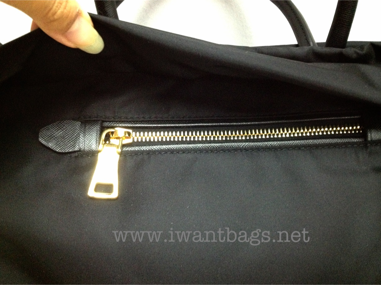 3c4046c24172 I Want Bags backup: Prada Tessuto Nylon Tote BN2531- Black