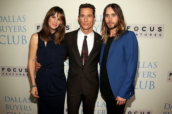 The Hollywood premiere of Dallas Buyers Club