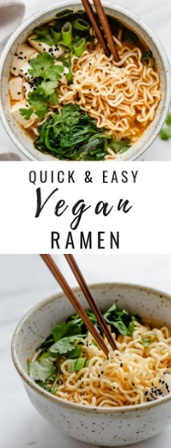 QUICK & EASY VEGAN RAMEN