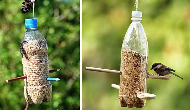 Pemberi Makanan Burung Otomatis