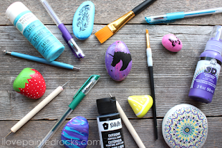 best paints to use for painted rocks