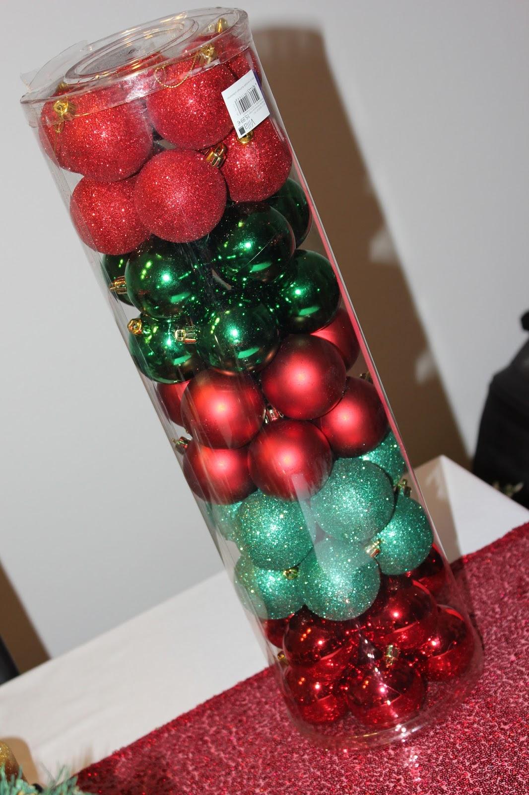 Christbaumkugeln Obi.Weihnachten Naht Haul Christbaumkugeln