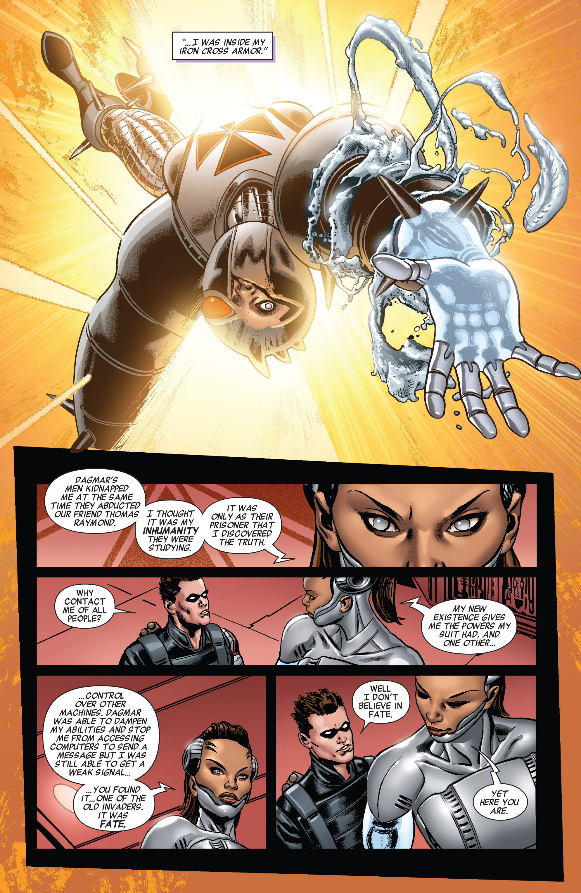 Read online All-New Invaders comic -  Issue #10 - 11