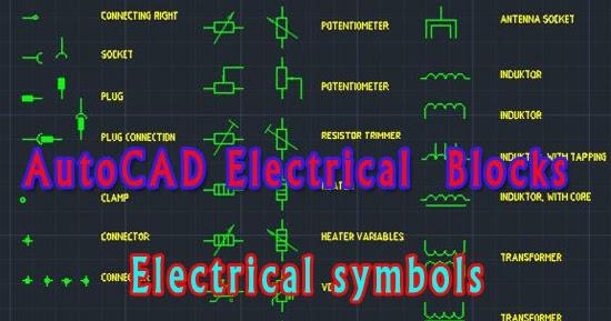 Download AutoCAD Electrical Symbols Blocks Free DWGMEP WORK