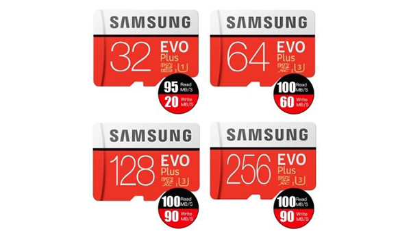 بطاقة ذاكرة خارجية سامسونج ايفو Samsung EVO PLUS U3