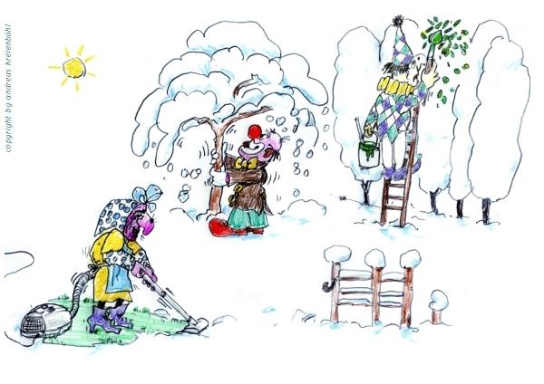 Die Fascht bringt den Frühling in den Garten
