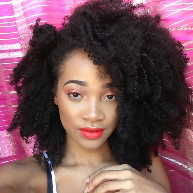 Peachy Orange Makeup look